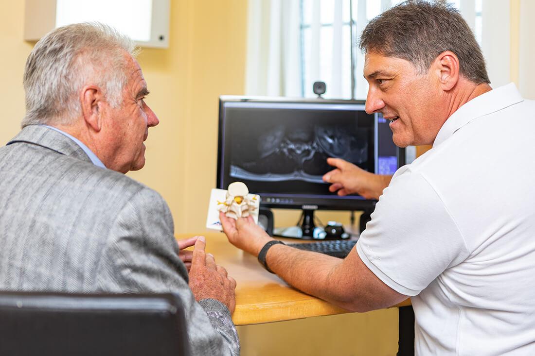 Hausarzt Hallwang - Jungbauer - Leistungen - Erkrankungen der Wirbelsäule
